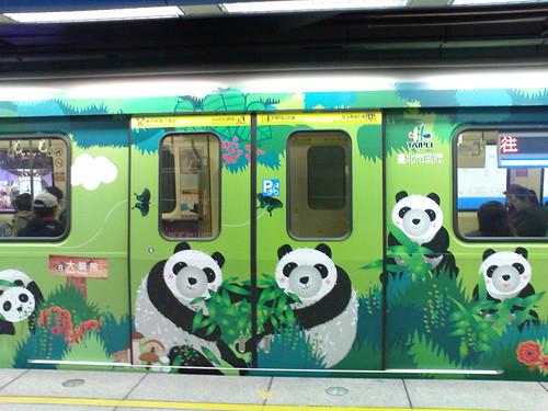 貓熊列車01