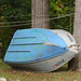 boat in yard