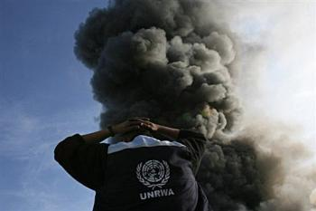 UN attacked in Gaza