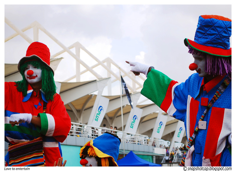 Clown at A1 Race Sepang