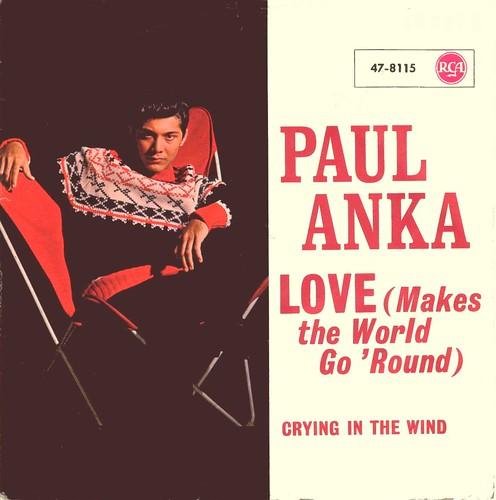 Anka, Paul - Love Makes The World Go 'round - D - 1963
