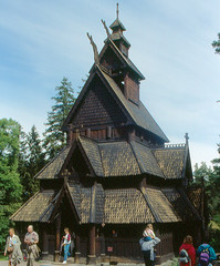 Oslo - Gol Stave Church (roger4336) Tags: oslo norway norge 1993 scandinavia openairmuseum stavechurch gol bygdøy folkmuseum bygdoy folkemuseum