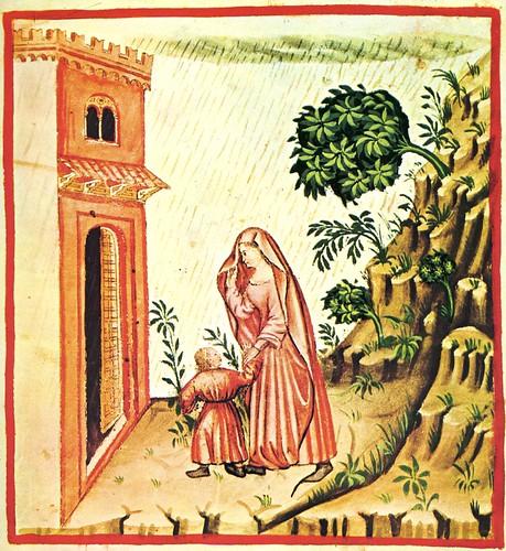 006- Efectos del viento meridional-TACUINUM SANITATIS- Biblioteca Casanetense Ms. 4182
