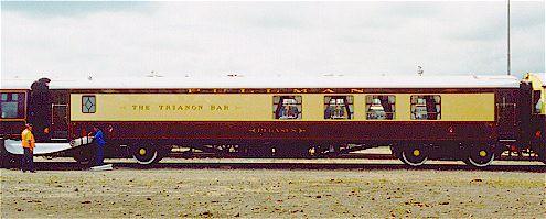 Train Chartering - Pegasus Pullman Bar Car