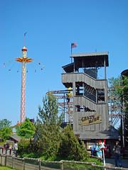 Hansapark - Crazy Mine und Torre del Mar (www.nbfotos.de) Tags: amusementpark rollercoaster funfair ostsee schleswigholstein achterbahn vergnügungspark kettenkarussell hansapark freizeitpark torredelmar sierksdorf wildemaus recreationalpark kettenflieger crazymine