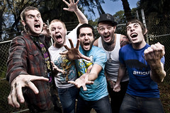 A Day to Remember (www.gageyoung.com) Tags: city records brick canon fence ball day remember dragon florida album alien young ab excited andrew victory bee 1600 z wade february 800 homesick strobe gage sanchez poopie ocala adtr strobist
