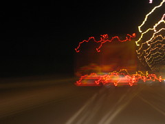 IMG_2547 (don pedro 93) Tags: light january headlights series 2009 fromthecar carheadlights drawingwithlight
