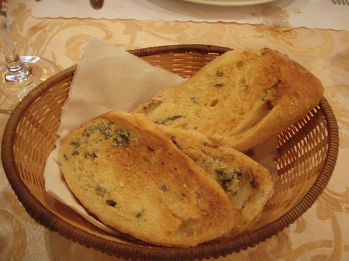 手工大蒜麵包