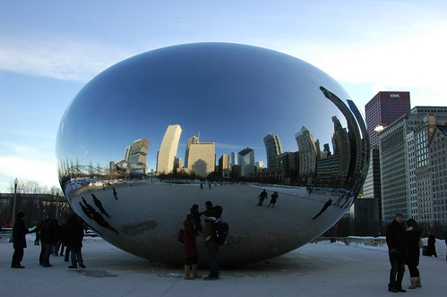 The Bean makes Chicago 39s skyline look like a Dr Seuss drawing