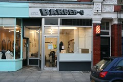 Barber-Q (paulcox72) Tags: funny with barber hairdresser names barnet hairdressers finchley pun supposedly longlane