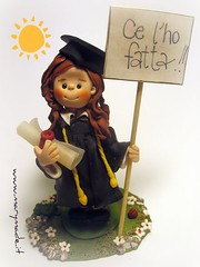 Cake Topper for a Graduation (marytempesta) Tags: cake graduation topper caketoppers