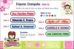 Etiquetas Termocolantes Estampadas Personalizadas