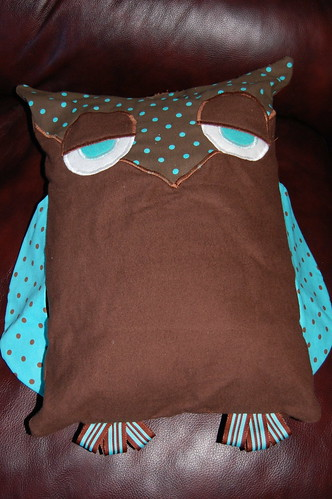 Dotty Owl Pillow