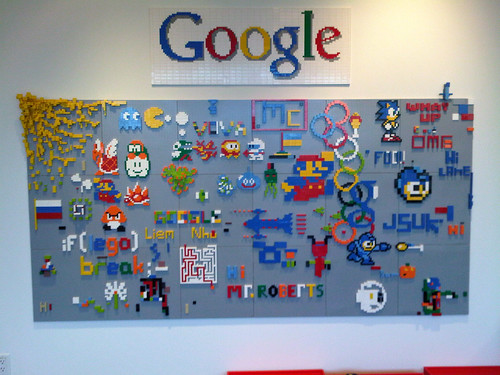 Google are Lego fans