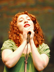 Regina Spektor (chris tuite/ christuitephoto.com) Tags: sf sanfrancisco california goldengatepark ca woman festival rock female concert song performance goddess pop singer stare regina redhair gaze rollingstone spektor reginaspektor summerfestival rollingstonemagazine outsidelands rollingstonecom outsidelandsfestival