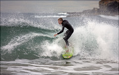 Surfing @ Dee Why (xi) (l plater) Tags: seascape surf waves candid horizon sydney australia northernbeaches deewhybeach almostanything flickrelite lplater unlimitedphotos paololivornosfriends