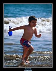 Moments ...Of ...Life !!! (Suvrangshu) Tags: ocean life blue beach childhood photography moments olympus moment suv sunnyday ghosh momentsoflife momentoflife suvrangshu subhon