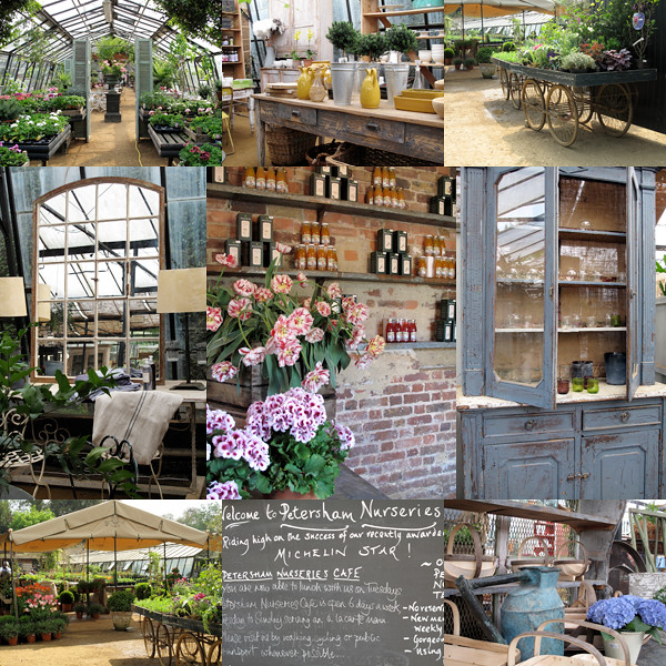 Collage Petersham Nurseries
