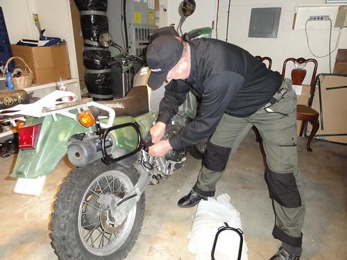 Installing the wolfman luggage racks