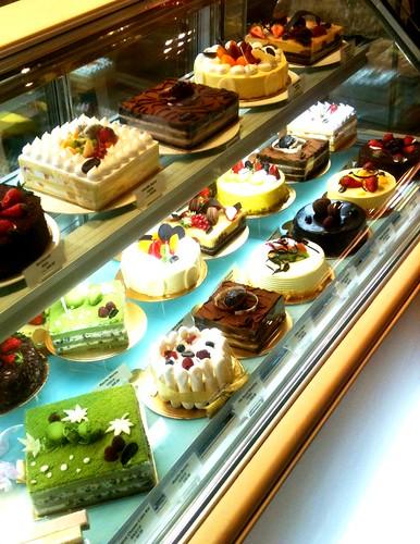 Pâtisserie à Singapour