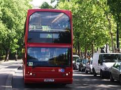 CT PLUS HTL4 on route 388 Embankment 22/05/11. (Ledlon89) Tags: bus london buses transport embankment scania londonbus tfl eastlancs ctplus