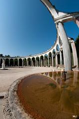 Bosquet de La Colonnade (Marc Lagneau) Tags: france castle water nikon eau fisheye versailles chateau 8mm parc reflets yvelines samyang bosquetdelacolonnade d300s marclagneau