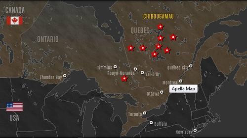 Map Of Apella Resources Vanadium Deposit