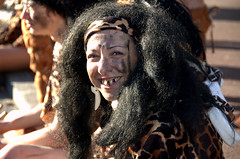 prehistoric beauty (olszuffka) Tags: woman beauty carnaval prehistoric evianlesbains