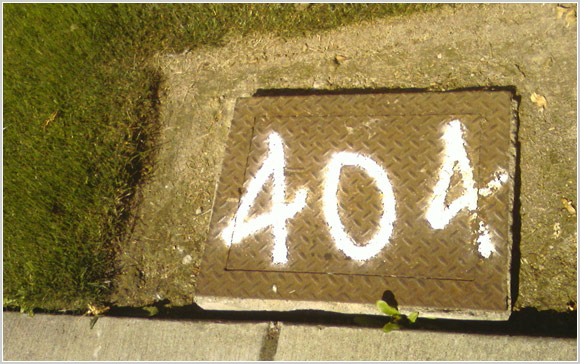 404 Grate not found