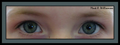 Hannah's Eyes (MWButterfly) Tags: life portrait people girl look fashion kid clothing eyes child diverse emotion humanity expression diversity style greeneyes peep ethnic minority stylish ethic g9 childseyes canong9 canonpowershotg9