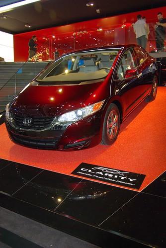 Концепт-кары автосалона в Женеве (Фото) - Honda Clarity 2008