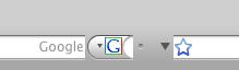 ממשק המשתמש של פיירפוקס במק (פיירפוקס 3 בטא 4)