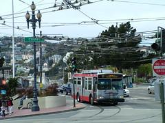 SF Muni 8525 (transitmodeler) Tags: bus muni transit