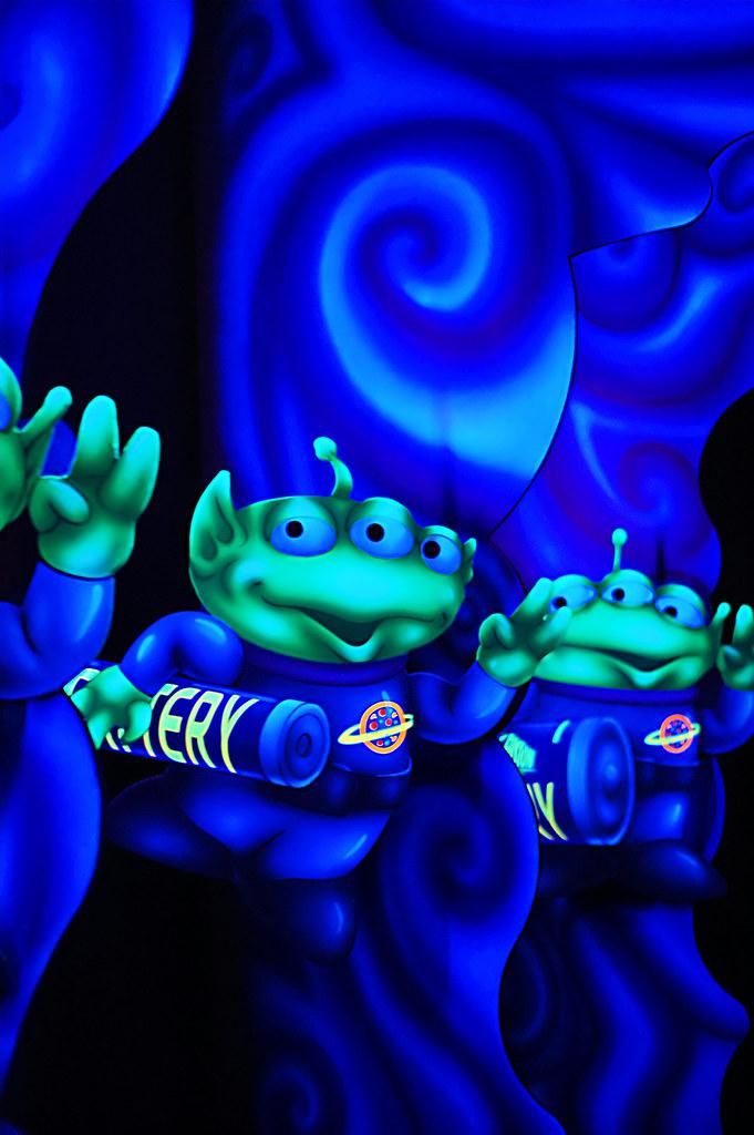 Disney - Buzz Lightyear's Space Ranger Spin Toy Aliens