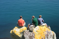A Fall (MikeyGumn) Tags: sea rock bristol landscape drop fieldtrip lundy uob sobs isleoflundy lundyisle uobsobs