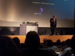 Microsoft Keynote in Louvain by Choubistar