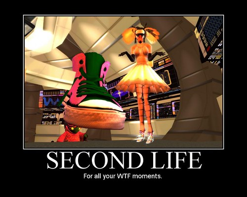 Second Life: For all your WTF moments.
