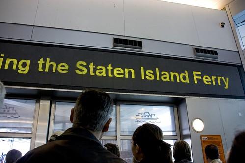 Staten Island Ferry?!