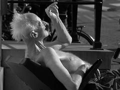 old man (wojofoto) Tags: amsterdam old man hips westermarkt wojofoto stadsarchief wolfgangjosten zawrtwit monochrome straatfoto streetphoto mensen people