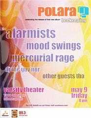 Polara at the Varsity Theater (May 9th)