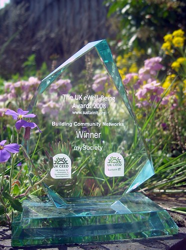 picture of the e-well being award for fixmystreet