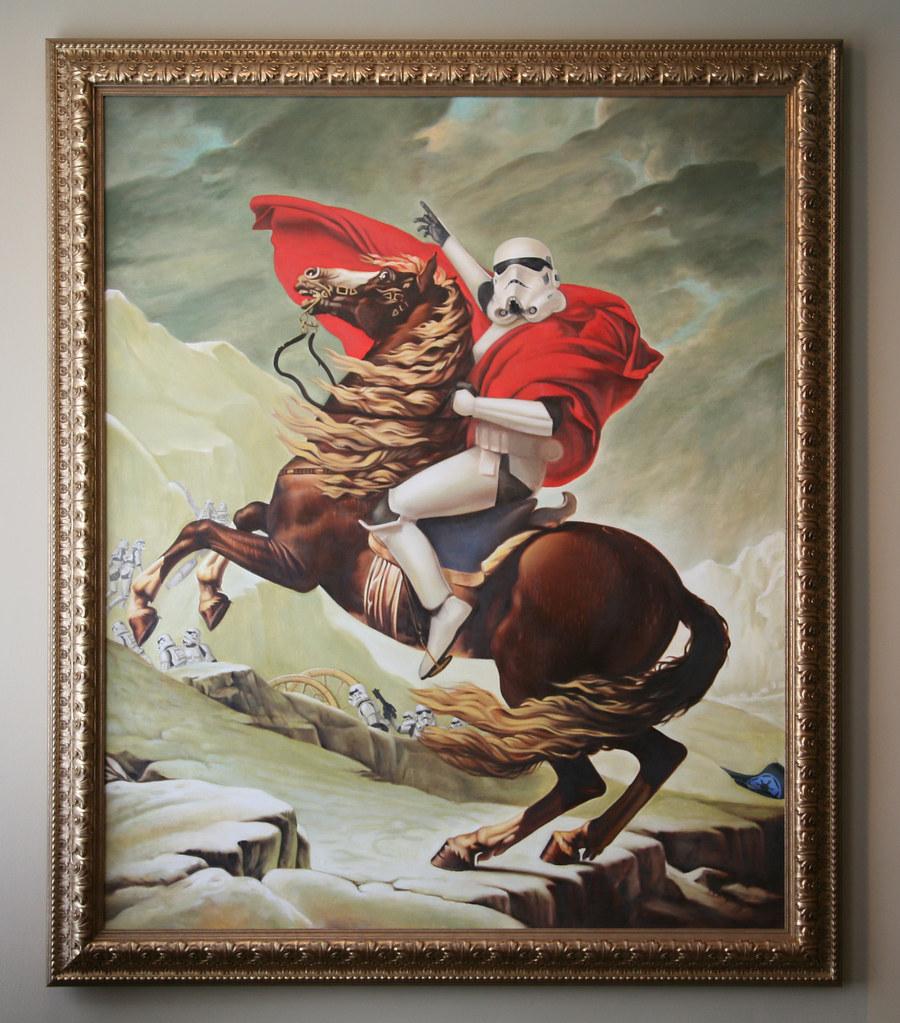 storm trooper, napoleon, crossing alps