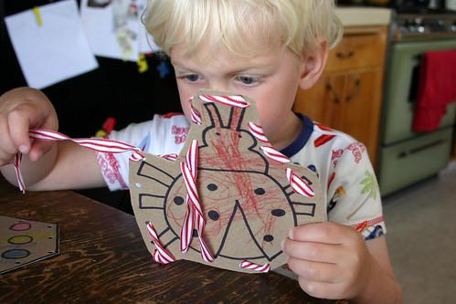 May 7, 2008: Lacing cards