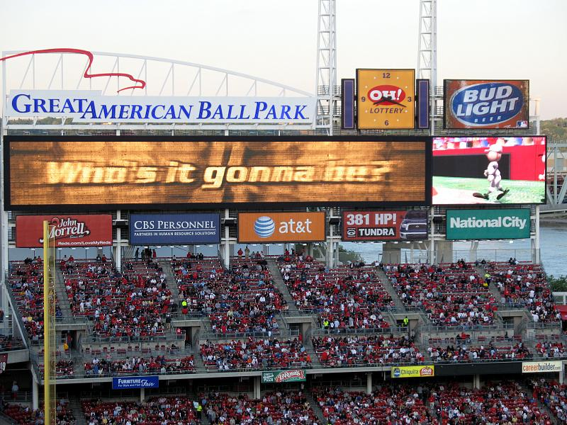 Reds 4 Indians 3