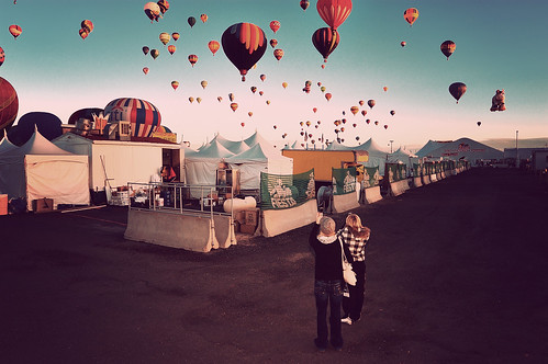 Back Alley at the Balloon Fiesta