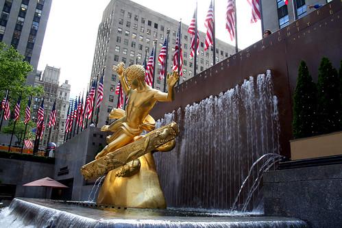The Fountain at Rockefeller Center