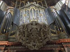 Pipe organ in the Nieuwe Kerk