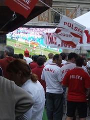 Euro 2008: Krakw, telebimy, puby, zdjcia i relacje (Moje Miasto Krakw) Tags: euro 2008 krakw plac zdjcia telebim puby relacje szczepaski
