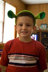 K was Shrek-ed