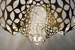Light Modulator (Richard Sweeney) Tags: lighting sculpture art design plywood richardsweeney lightmodulator lazerian